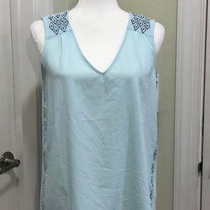 Tops - Embellished V-neck top